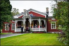 Wherefrom the renowned Finnish lifestyle TV program Strömsö is broadcasted. Beautiful western coast of Finland Western Coast, Wooden Houses, Faroe Islands, Nordic Design, Best Cities, British Columbia, Old Town, Croatia, Denmark