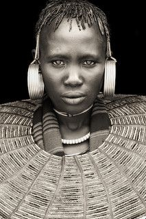 Africa | Portrait of a Rendile Woman, Western Kenya. |  © Mario Gerth