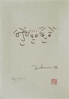 #JOHNLENNON http://beatlesmagazine.blogspot.com/2015/02/the-art-of-john-lennon-in-houston.html BEATLES  MAGAZINE: THE ART OF JOHN LENNON IN HOUSTON