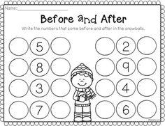 Winter NO PREP Printables for Kindergarten FREE PREVIEW