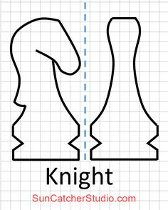 Πρότυπο κομμάτι σκακιού (Ιππότης)