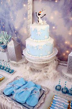 Disney's Frozen Winter Wonderland Birthday Party - Bella Paris Designs