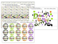 Bottlecap Ribbon and Ironon DIY set I drive by LuziEllisGraphics Printed Ribbon, Fb Covers, Collage Sheet, Timeline, Circles, Avatar, Custom Design, My Etsy Shop, Banner