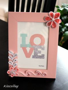 quilling pink