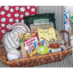Baseball Gift Basket
