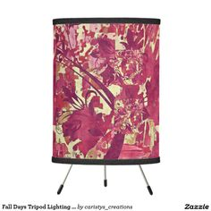 Illuminate your home with Tripod lamps from Zazzle. Choose from our pendant, tripod, or table lamps. Find the right lamp for you today! Fall Days, Autumn Day, Tripod Lamp, Pendant Lamp, Rust, Table Lamp, Curtains, Lighting, Decor