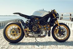 This Ducati 1098 'café fighter' was a trackday machine until it was damaged in an accident. Most people would repair a 1098 back to standard spec, but owner Alonzo Bodden decided to give his to a Florida-based custom workshop, Nick Anglada Originals.