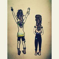 Doodle... - by Zeba Hassan. #doodles #doodle #clothes #fashion #hair