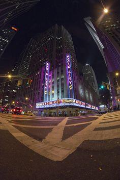Radio City Music Hall, New York, NY  #radiocity #nyc #ny #metro #night