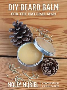 DIY Beard Balm for the Natural Man by Molly Muriel