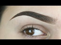 Perfect Brow Tutorial | Updated Brow Routine - YouTube