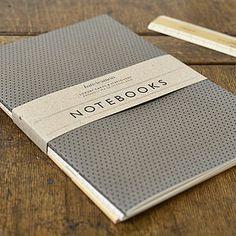Pack Of Three Notebooks