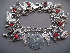 Valentine Bracelet  Valentine Jewelry  Je by SilverTrumpetJewelry, $49.00