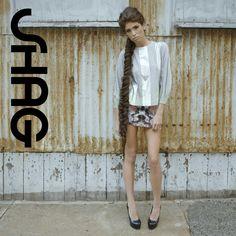 #braid by Kara Hurston for #shagboston Clothing by #riccardiboston Photo by Sandy Poirier  #shagforlife #toga