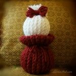 Loom Knit Doll (24-peg round loom)