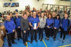 35 years of service for Spinlock's Andy Ormiston