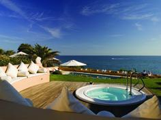Vila Joya, a boutique hotel in Algarve portugal Hotels In Portugal, Small Luxury Hotels, Luxury Travel, Algarve, Resorts, Albufeira Portugal, Best Boutique Hotels, Moorish, Stunning View