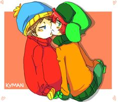 Kyman pairing from South Park