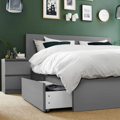 High Beds, Ikea Malm Bed, High Bed Frame, Adjustable Bed Base, Ikea Malm, Bed Frame With Storage, Malm Bed Frame, Bed, Malm Bed