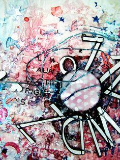art journal detail by Gryczova