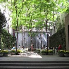 Robert Zion & Harold Breen Paley Park  (1)