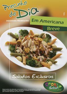 Precinhos Saudáveis Crok Salad.
