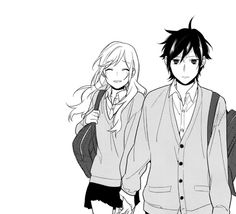 Horimiya.good manga and I really recomend it .I really like it cause it so romantic but at the same time not to sexual