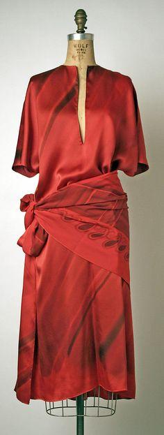 Evening Tunic, Bill Blass, 1975-77, American, silk