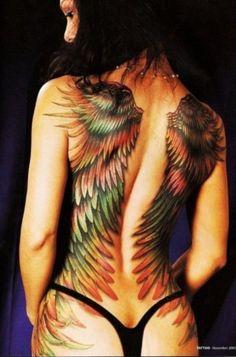 Amazing Wing Tattoo