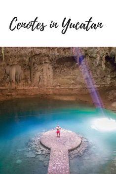 A #cenotes - guide in #Yucatan!