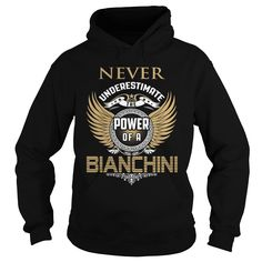 [New last name t shirt] BIANCHINI Coupon 10% Hoodies, Funny Tee Shirts
