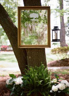 mirror signage   Olivia Griffin #wedding