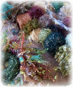 Woodland Bling nest -- and yarns
