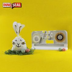 The seal is truly Eggcellent! Seal, Dinosaur Stuffed Animal, Easter, Toys, Animals, Activity Toys, Animales, Animaux, Easter Activities