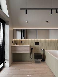 VILLAGGO HOUSE on Behance Natural Wood, Behance, Interior Design, Bedroom, Modern, House, Style, Nest Design, Swag