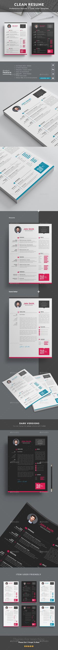 Resume by themedevisers Resume Word / CV Template is the creative, clean, modern and professional resume template to help you land that great job. The f