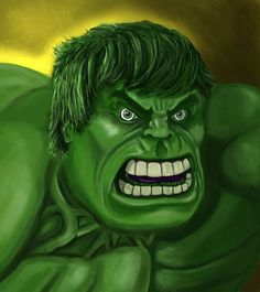 #Hulk #Animated #Fan #Art. (Hulk Face) By: Mark1up. ÅWESOMENESS!!!™ ÅÅÅ+