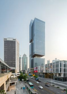 Located on the waterfront in Shenzhen's Shekou district, the 200-metre-tall tower was built for property company China Merchants Shekou Holdings (CMSH). Rotterdam, Shenzhen Stock Exchange, Melbourne, Industrial Fabric, Tower House, Rooftop Garden, Sea World, Contemporary Architecture, Architecture Design