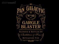 "Spirit of Zaphod for $15 // ""Pan Galactic Gargle Blaster"" #clothes"