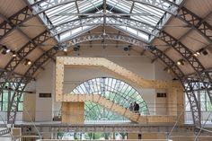 Au @PavillonArsenal, BAM System un pavillon autonome et modulaire http://www.blog-habitat-durable.com/au-pavillon-de-larsenal-bam-system-un-pavillon-autonome-et-modulaire/