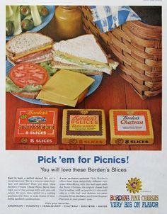 Borden's Cheese (1960).