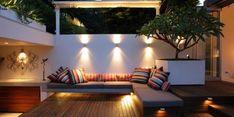 Small urban garden design – ideas for the modern outdoor space - Decoration 2 Outdoor Living Space, Outdoor Rooms, Small Backyard, Outdoor Decor, Outdoor Space, Outdoor Design, Outdoor Entertaining Area, Outdoor Spaces, Courtyard Design