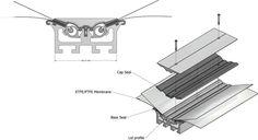 ETFE Membrane Profile - AutoCAD,Autodesk Inventor - 3D CAD model - GrabCAD