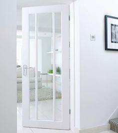 Worcester Clear Glazed White Door