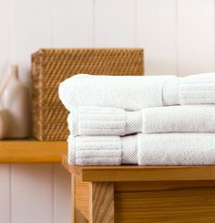 Zenith Towels from the Turkish Towel Company in white or Steele.  Need a full set for the guest bath and ours:  6 bath sheets, 6 hand towels, and 6 washcloths.
