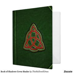 Book of Shadows Cover Binder