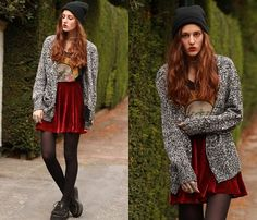 GHOST TRAIN (by Emi Coco .) http://lookbook.nu/look/4102530-GHOST-TRAIN