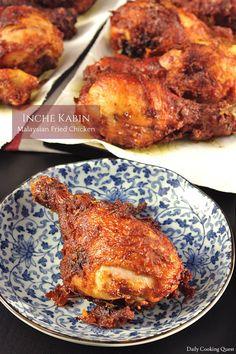 Kabin - Malaysian Fried Chicken Inche Kabin - Malaysian Fried ChickenMalaysian Malaysian may refer to: Malaysian Cuisine, Malaysian Food, Malaysian Recipes, Asian Recipes, Healthy Recipes, Ethnic Recipes, Indonesian Recipes, Asian Desserts, Healthy Food