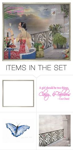 """""""The Land of """"What Is"""""""" by julissag ❤ liked on Polyvore featuring art"""