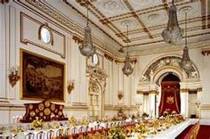 The State Banquet Room @ Buckingham Palace